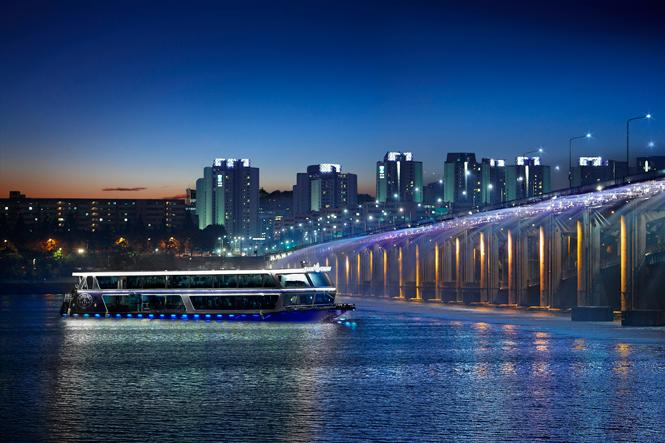 Hangang River Buffet Cruise Fountain