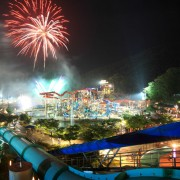 vivaldi-ocean-night-fireworks-water-slide