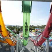 Caribbean-bay-rainbow-slides'