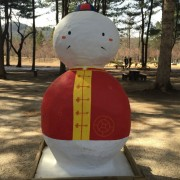 Nami-island-snowman