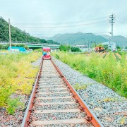 Gangchon-rail-bike-park-rail-bike-rail-track-riding