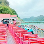 Gangchon-rail-bike-park-romantic-train-at-the-station