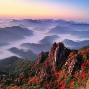 daedunsan-mountain-cloud-fall-foliage