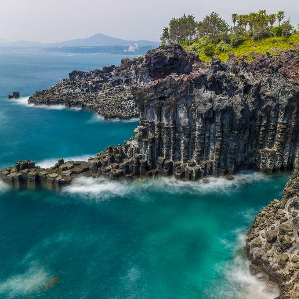 jeju_island_jusangjeolli_cliff