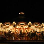 seoul_land_merrygoaround_attraction_night
