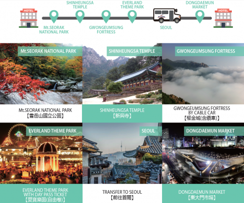 Seoul-join-group-tour-budget-Seoraksan-Dongdaemun-Everland-Cable-car-DAY 2