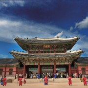 Seoul-group-tour-join-in-tour-all-year-Gyeongbokgung-palace-guard-change-ceremony