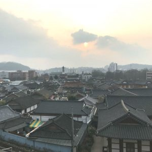 Jeonju-hanok-village-sunset-beautiful