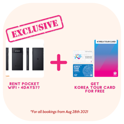 Korea Tour Card 1