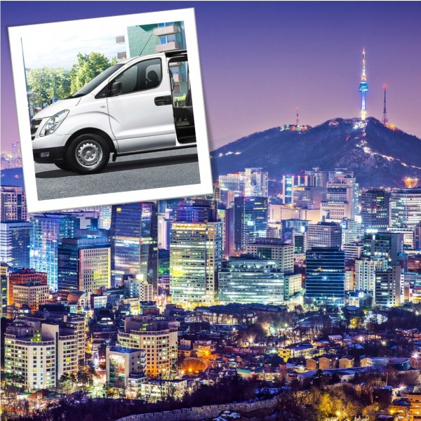 Explore Seoul city in 1-day with private car and driver