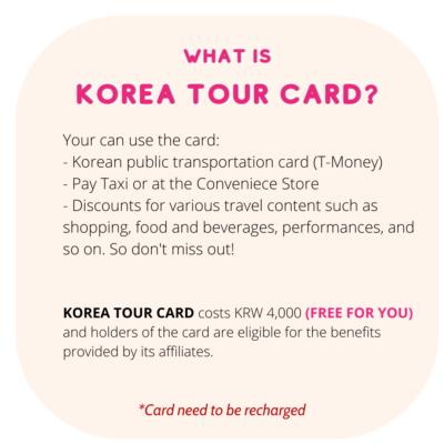 K Tour Card new
