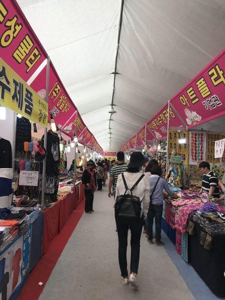 Taean-market-selling-things