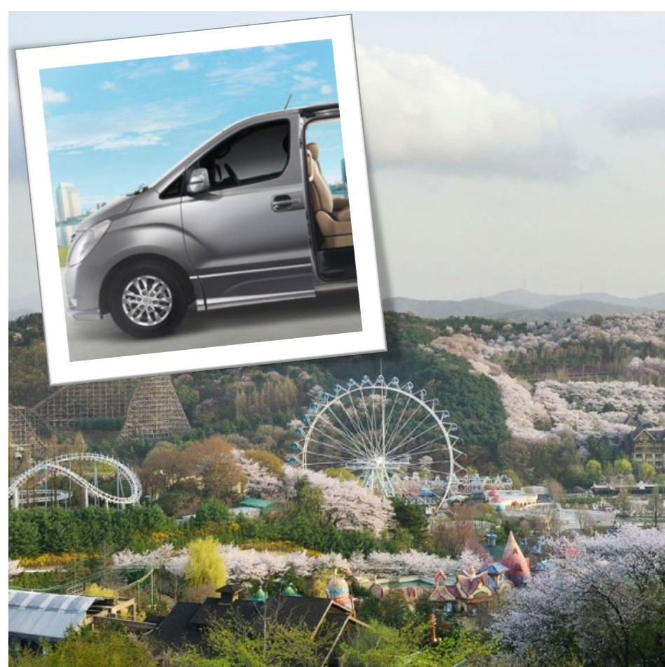 UP TO 18%, Everland and Caribbean Bay Private Van transport Pick-up and Drop-off transfer | KoreaTravelEasy