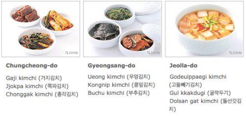 Regional Kimchi 2