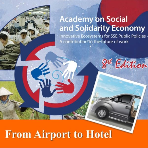 ILO Academy- Incheon Airport Pick-up Van Transfer to Seoul hotel