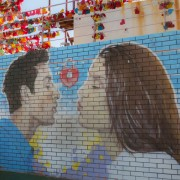 gamcheon-culture-village-mural-kiss