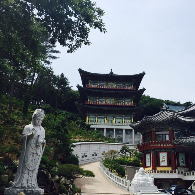 Samgwangsa temple