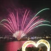 Hangang_River Buffet_Cruise_Firework