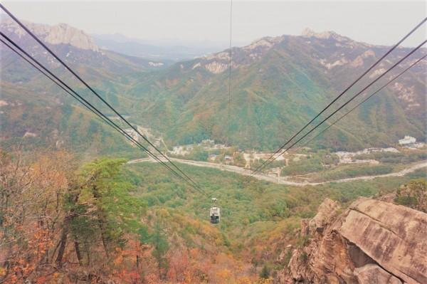 Seorak Mountain Cable Car