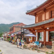 Jeonju Hanok Village Buildings