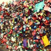 Seoul N Tower Love Padlocks
