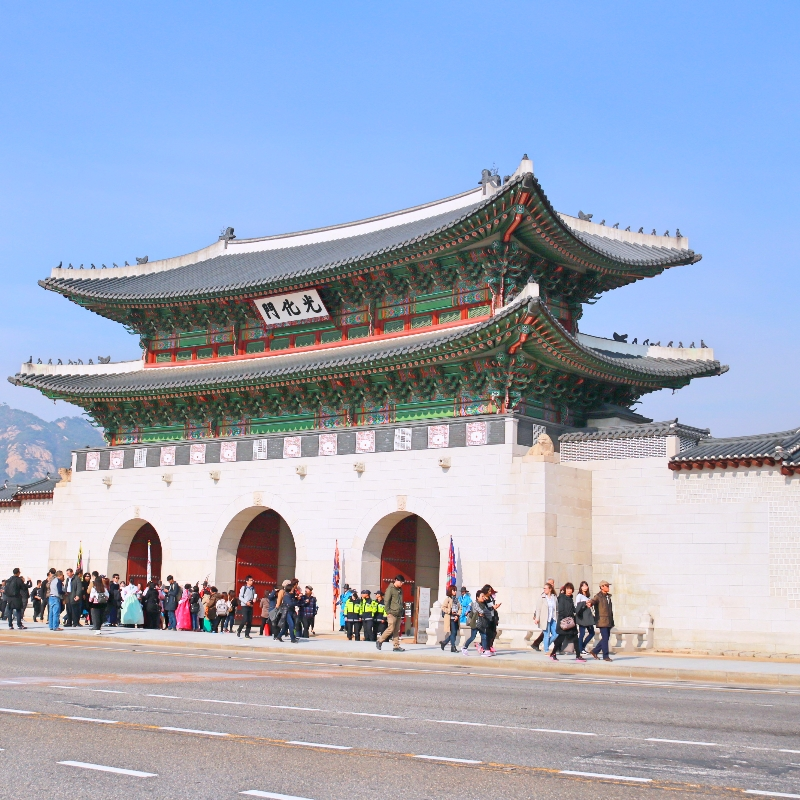 Royal Palace Tour Gyeongbokgung