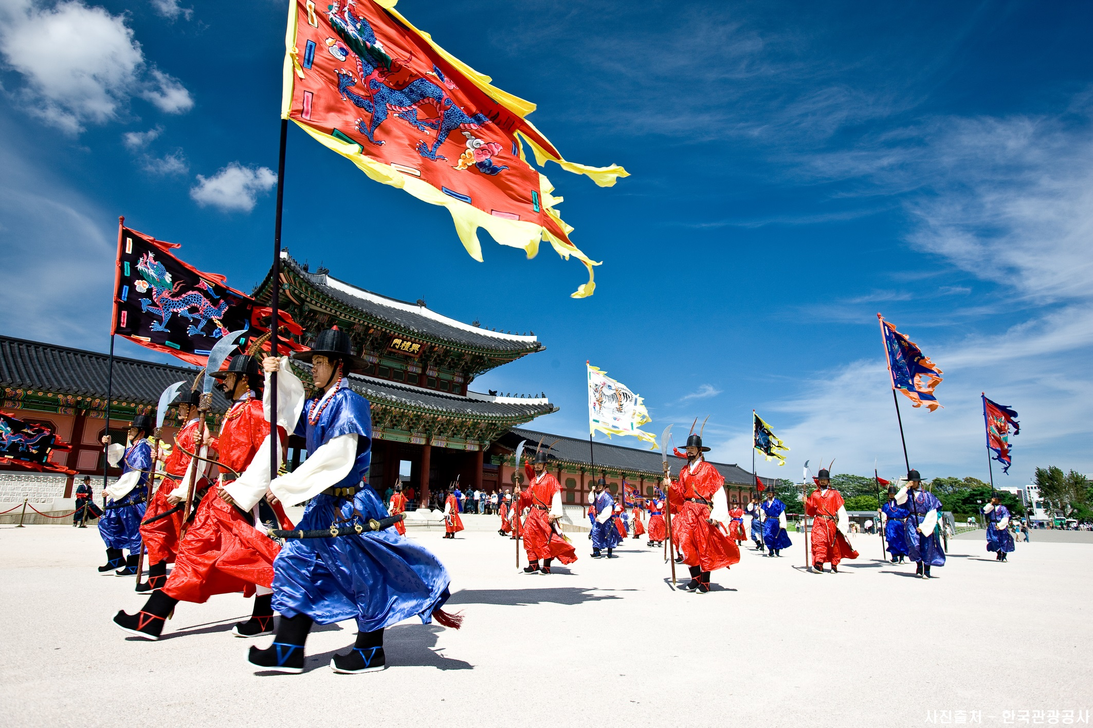 Gyeongbokgung Royal guards