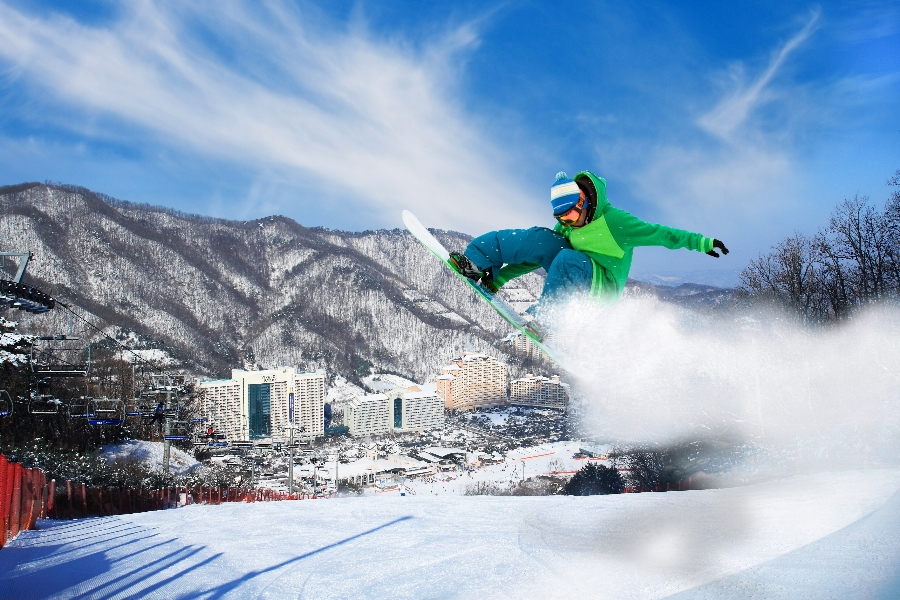 Daemyung Vivaldi Park 1-Day Winter Ski, Snowboard Lesson Shuttle Bus Package Tour (until Mar 19) | KoreaTravelEasy