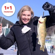Hwacheon Sancheoneo Ice Fishing Trout Festival 1-Day Shuttle Bus Tour Package
