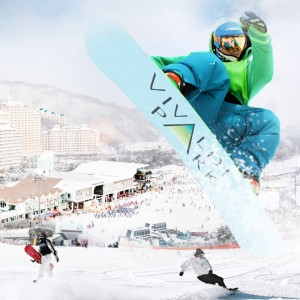 Daemyung Vivaldi Park 1-Day Winter Ski, Snowboard Lesson Shuttle Bus Package Tour