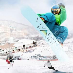 Daemyung Vivaldi Park 1-Day Winter Ski, Snowboard Lesson Shuttle Bus Package Tour