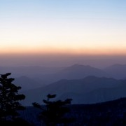 korea-ski-yongpyong-resort-sunrise-sunet-mountain-view