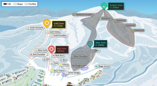 Yongpyong Resort Olympics Slopes Notice