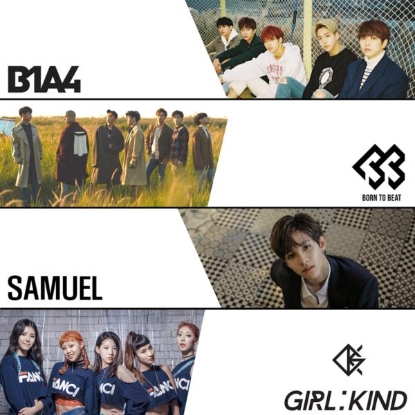2018 03 kpop concert-b1a4 btob samuel girlkind