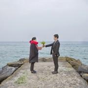 goblin-location-tour-gangneung-jumunjin-beach-flower-scene