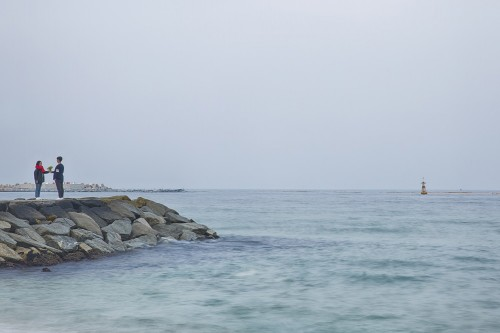 goblin-location-tour-gangneung-jumunjin-beach-rocks-ocean-view