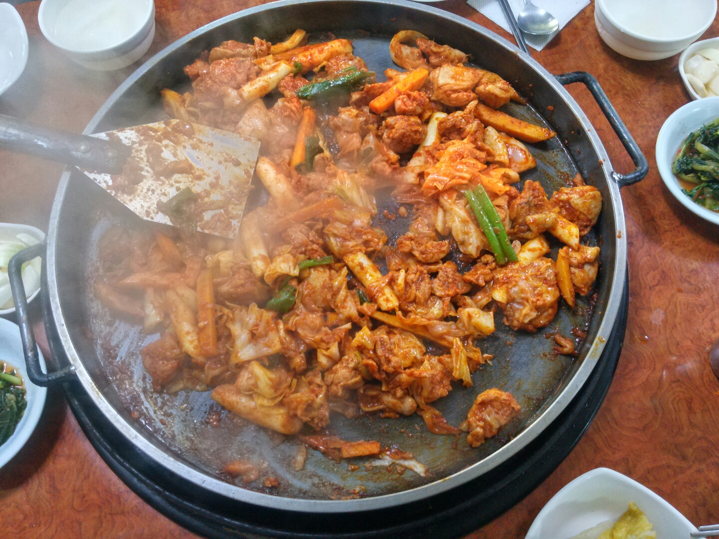 Chuncheon-dakgalbi-chicken-food