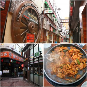 chuncheon_korean_food_dak_galbi_myeongdong_street_alley