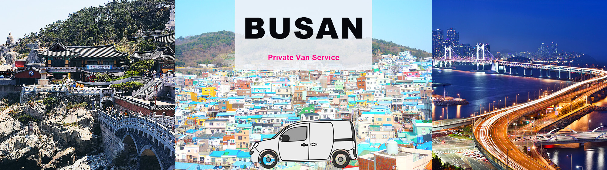 Busan City Tour – PRIVATE Car and Driver (Tourguide option) | KoreaTravelEasy