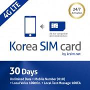 30-days-korea-sim-card-4g-unlimited-data-mobile-number-local-voice-krsim