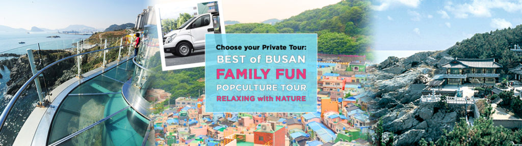 UP TO 10%, Busan 1day Private car and driver, choose between Best of Busan, Popculture, Family Fun or Relaxing with Nature Tour (Tourguide option) | KoreaTravelEasy