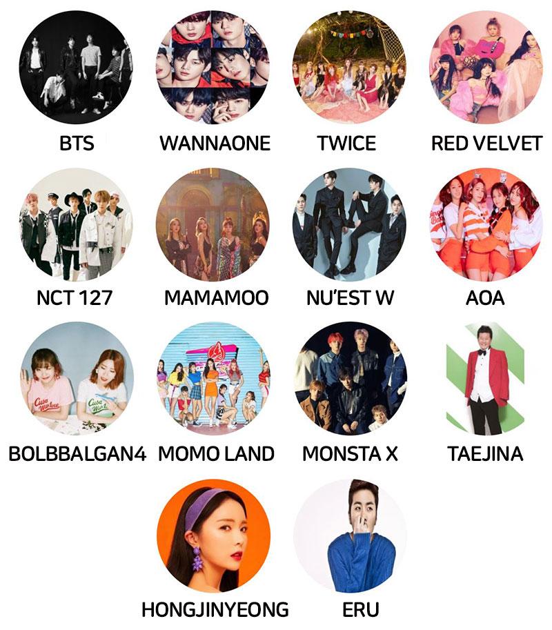 Soribada-KPOP-Concert-Lineup-BTS