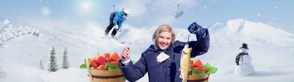 UP TO 24%, Elysian Gangchon Ski Resort & Nami Island, Chuncheon K-Drama, Hwacheon Sancheoneo Ice festival 1-Day Shuttle Bus Tour Package (Nov-Feb)   KoreaTravelEasy