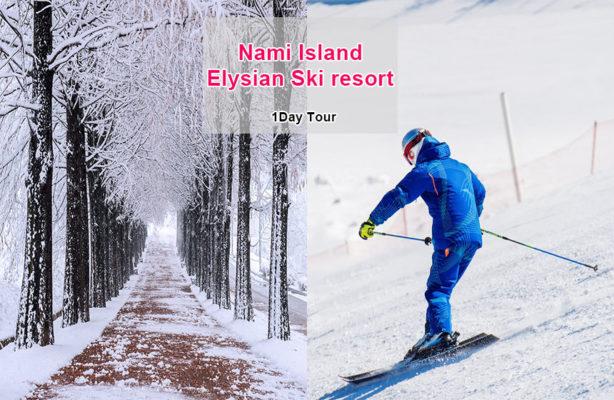 Nami island elysian ski resort