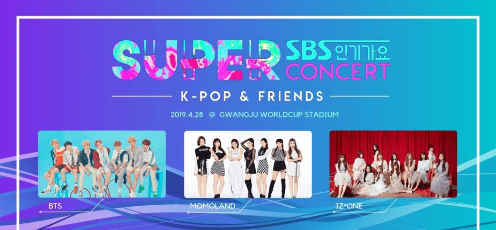 closed  gwangju sbs inkigayo 2019 super concert with bts  u2013 1day bus tour from seoul  apr  28