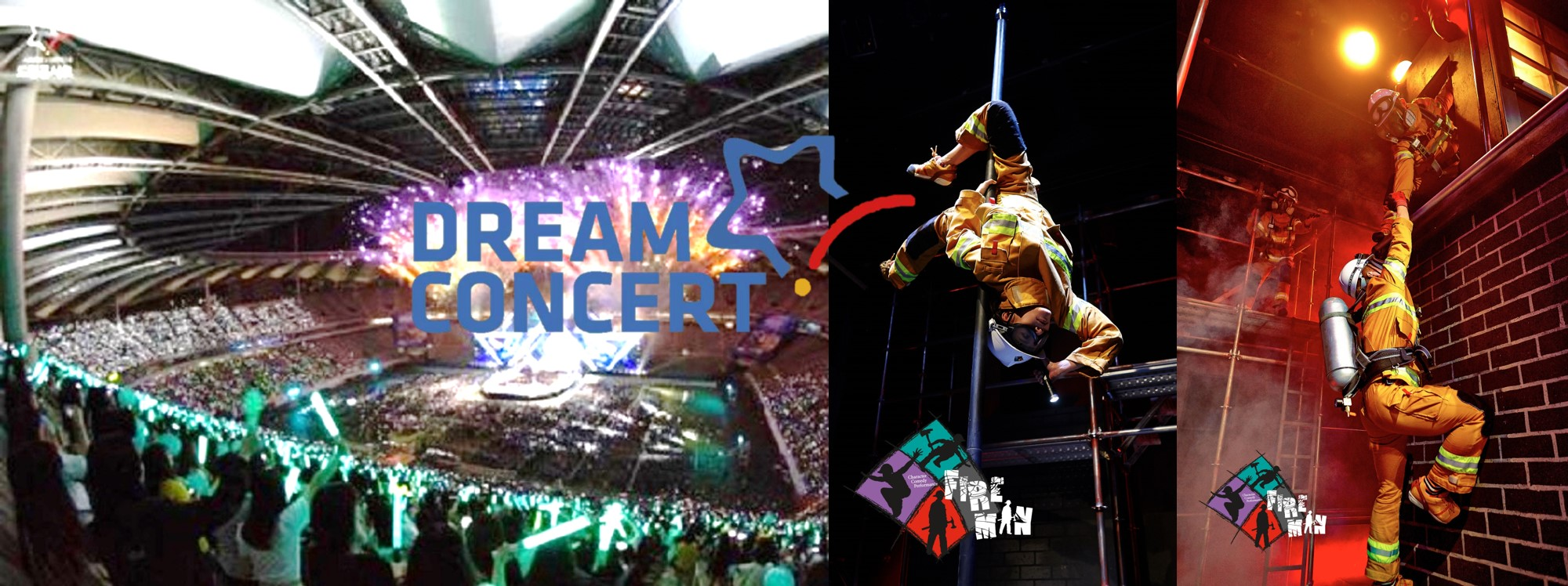 2019 Dream Concert Standing Zone Kpop Ticket and Musical FIREMAN Show  Package (May  18)