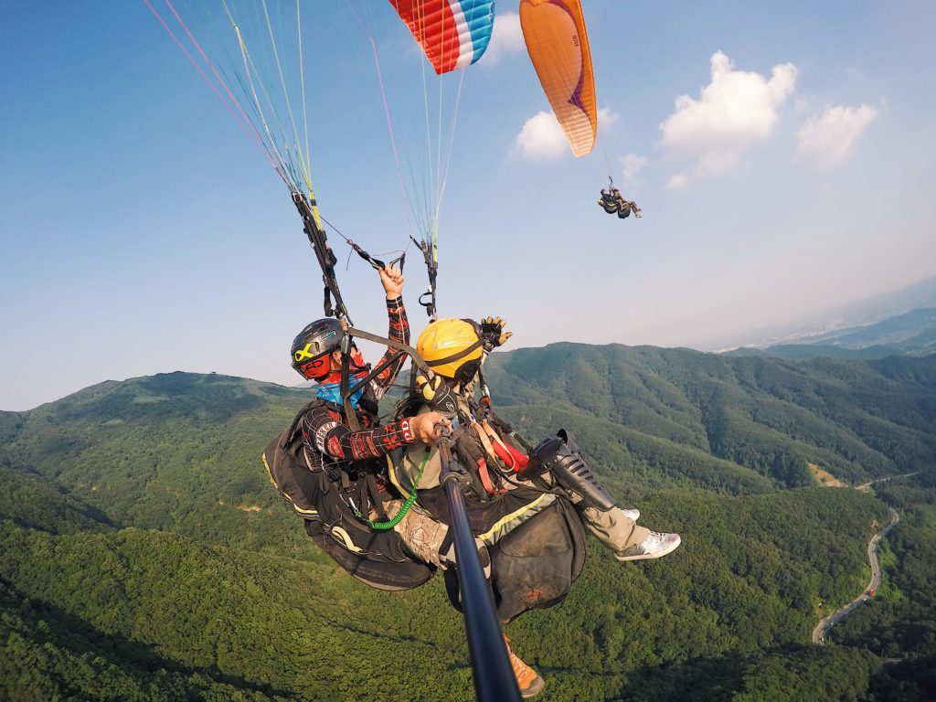 UP TO 12%, Paragliding in YangPyeong – with KTX Ticket near Seoul (Mon-Fri) | KoreaTravelEasy