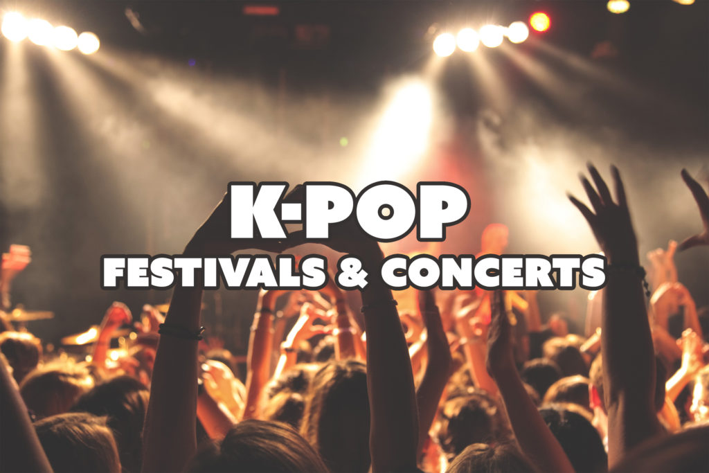 K-pop Festivals & Concerts You Must Experience in Korea