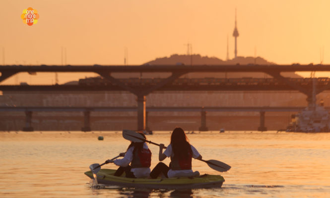 han river activity Sunset Kayak