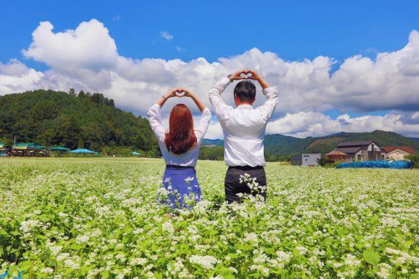 Hyoseok Cultural Festival couple